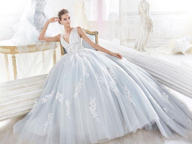 30 abiti da sposa celesti per nozze da favola