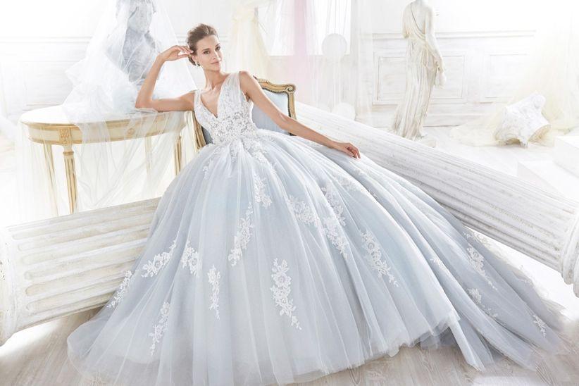 bb206ea151bb 30 abiti da sposa celesti per nozze da favola