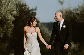Quando l'amore è magia: le nozze di Federica e Daniele