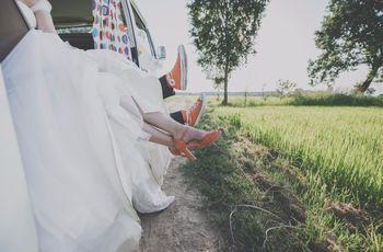 Dal primo incontro sul pianerottolo di casa al giorno del Sì: le nozze di Andrea e Valentina