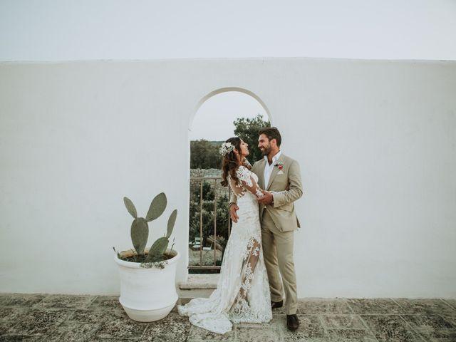 Nick e Vena: un matrimonio all'aperto in stile shabby chic