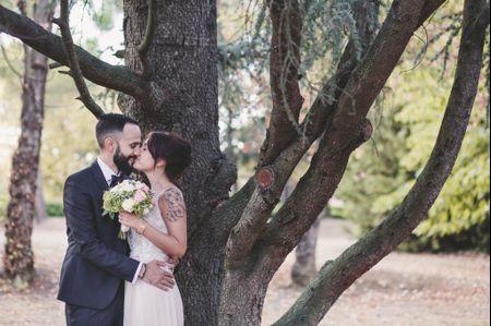 Le nozze boho chic di Erika e Mirco in uno splendido paesaggio naturale