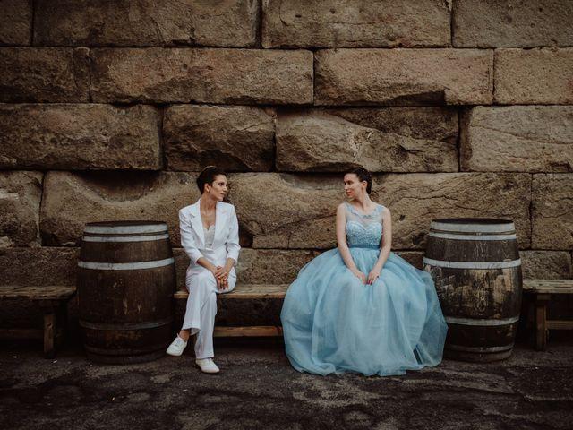 Come nelle fiabe: le nozze incantate di Flavia e Greta