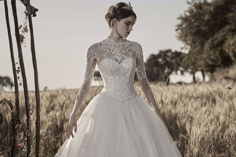 30 abiti da sposa per un matrimonio elegante c2d80649fef