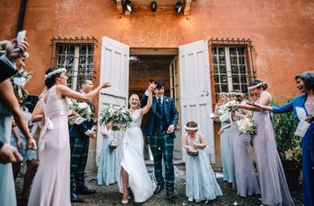 Destination wedding: le nozze rustic chic di Sarah e Michael