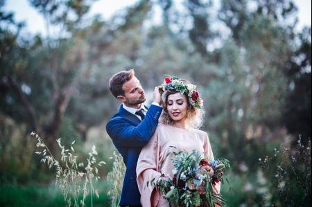 L'infinito è fatto di noi: le nozze natural chic di Federica e Andrea
