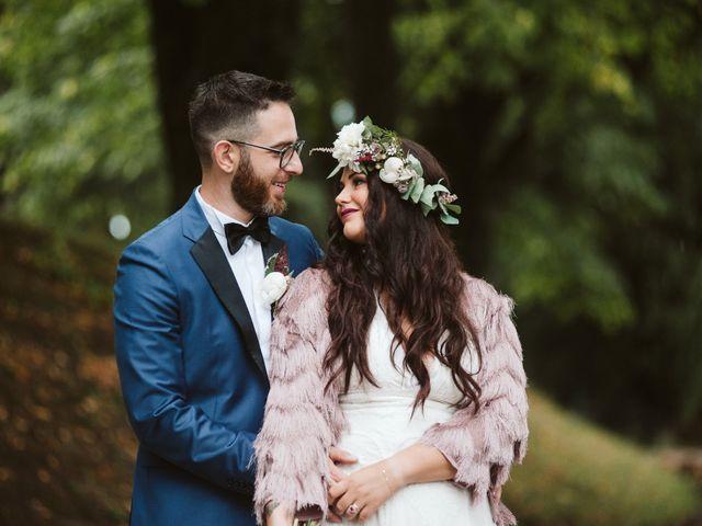 Letizia e Simone: spirito creativo per un matrimonio in stile bohemièn