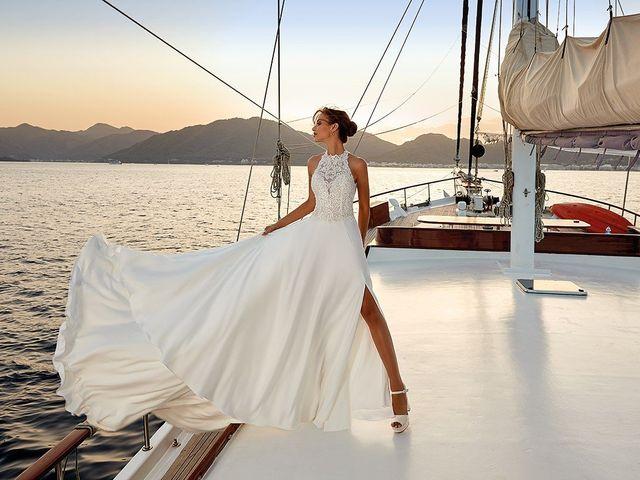 Abiti da sposa Eddy K 2019: 50 modelli romantici e sognanti per un look alla moda
