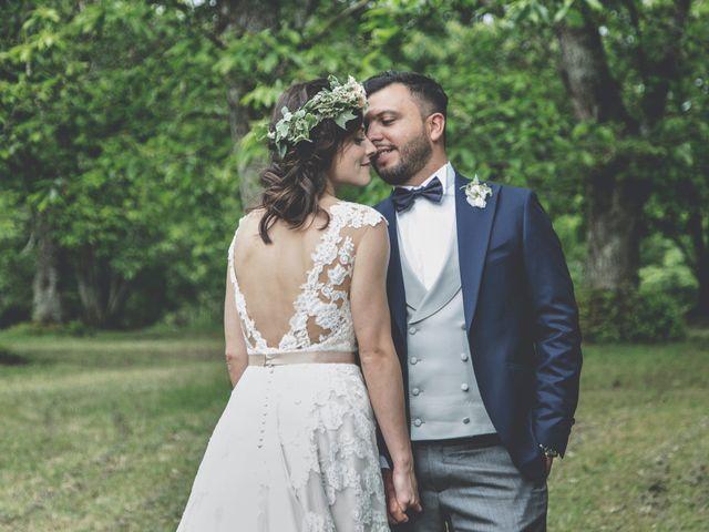 Le nozze di Serena e Massimiliano nello scenario mozzafiato dei Monti Cimini