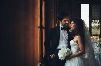 Da una ruota panoramica colorata al candore delle nozze: il matrimonio di Irene e Yari