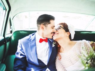 Da un colpo di fulmine a una promessa d'amore eterno: il matrimonio di Luca e Donatella