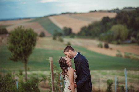 Le nozze di Marco e Claudia: armonioso mix di stili ed emozioni
