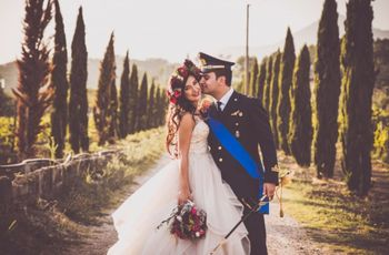 Le nozze di Jenny e Alessio: un romantico evento in puro stile country chic