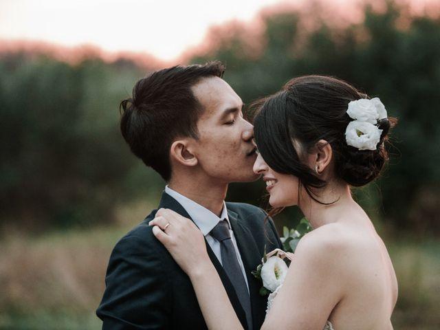 Le nozze internazionali di Serena e Wisarut: quando l'amore è cucito a mano