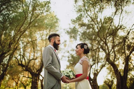 Fabiana e Matteo: in viaggio dall'Australia alla capitale per dirsi Sì in modo speciale