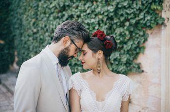 È guardandosi negli occhi che l'amore prende forma: le nozze di Giusy ed Emanuele