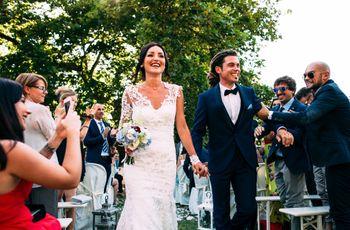 Mano nella mano verso un nuovo viaggio: il matrimonio di Elena e Marco