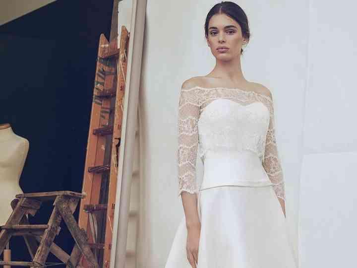 new products 7d615 b8e93 25 abiti da sposa con manica a tre quarti