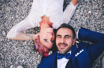 Le nozze di Margherita e Michele: l'equilibrio perfetto tra un vulcano e un mare calmo