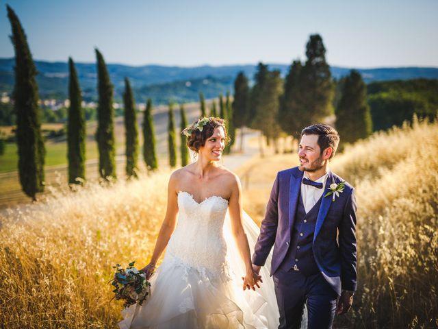 Le nozze toscane di Alessia e Valerio: un viaggio vintage tra i sorrisi