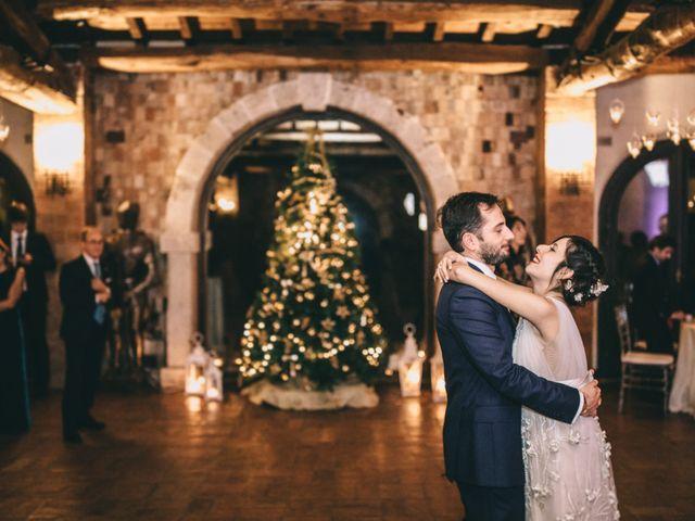 Un amore sotto l'albero di Natale: le nozze di Flavia e Gianluca