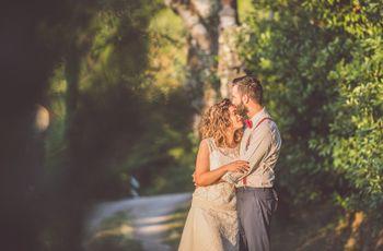 Come la neve d'inverno: le nozze di Mirko e Simona