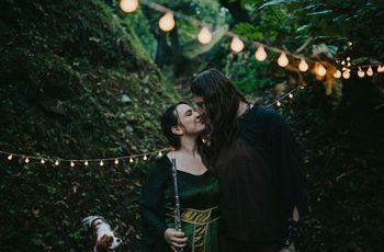 Spirito celtico e verdi colline: le nozze di Erica e Daniel