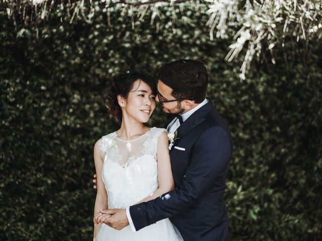 Mei e Amedeo: un matrimonio italiano dalle sfumature orientali