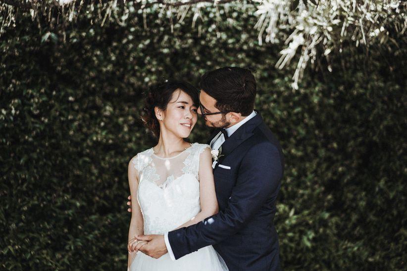 Matrimonio In Italiano : Mei e amedeo: un matrimonio italiano dalle sfumature orientali