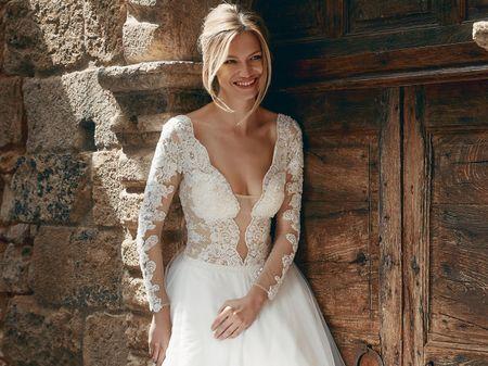 30 abiti da sposa in pizzo per stili diversi