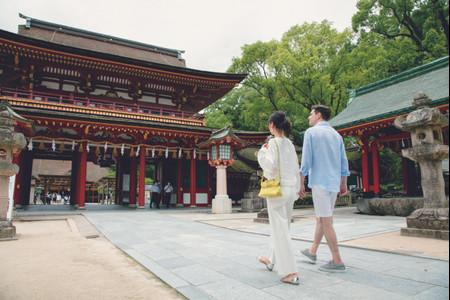 Vivi il tuo sogno d'amore in Giappone in ogni stagione!