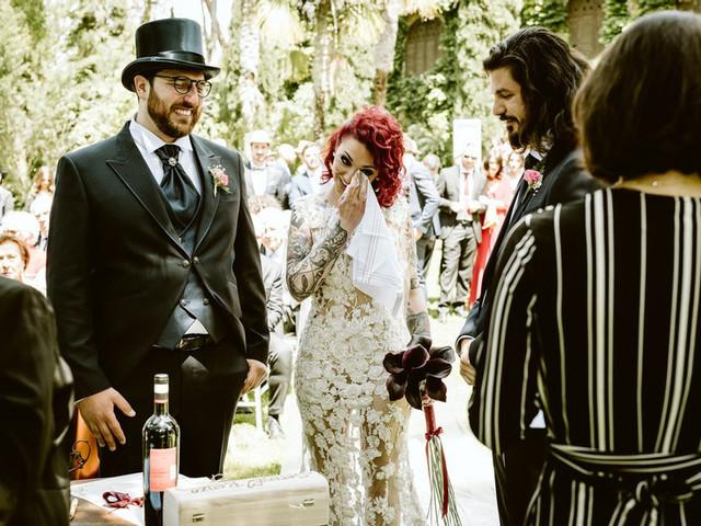 Lacrime di felicità: le foto dei momenti più emozionanti degli sposi