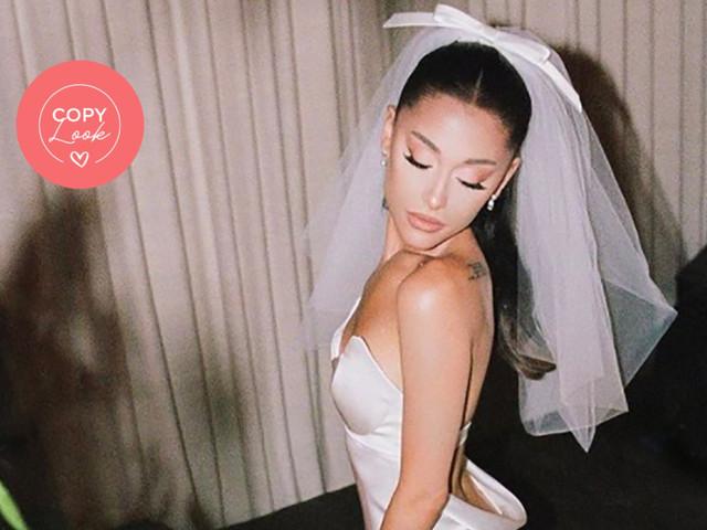 Look da sposa ispirato alle nozze di Ariana Grande