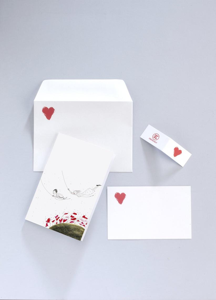Partecipazioni Matrimonio Emergency.Partecipazioni E Bomboniere Di Nozze Emergency Lasciate Il Segno