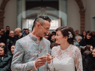 Il perfetto gioco d'amore di Luca e Francesca nel bianco Salento