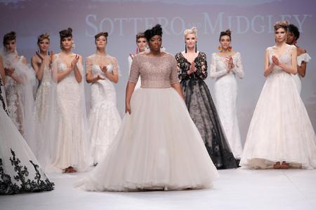 La nuova collezione di abiti da sposa Maggie Sottero fa brillare il white carpet della VBBFW