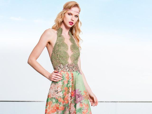 Look invitata di nozze in rosa, verde e oro: provare per credere!