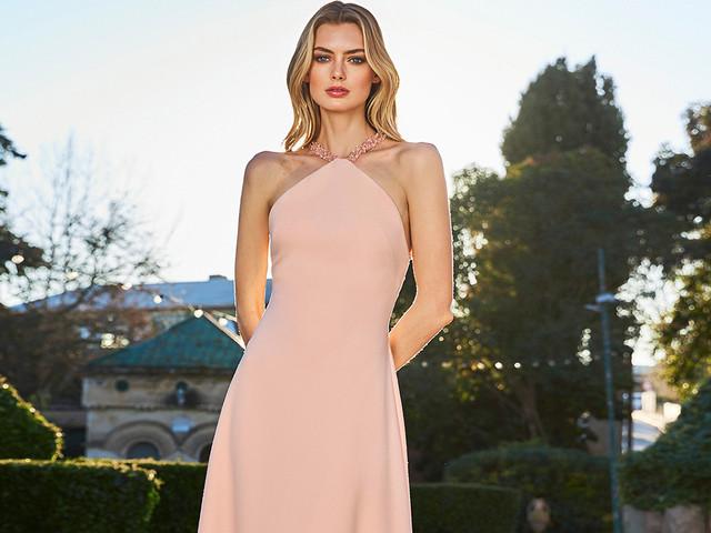 20 abiti da cerimonia rosa per le damigelle d'onore