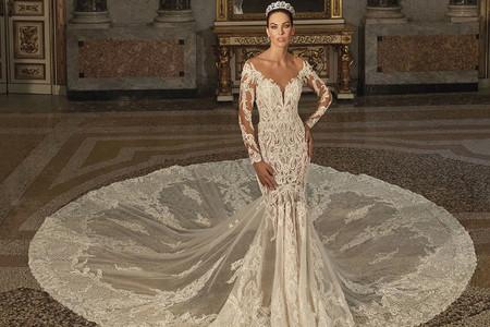 I 50 abiti da sposa in pizzo più belli per la stagione invernale