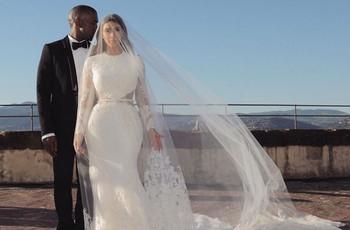 Kim Kardashian celebra il suo 5º anniversario di nozze