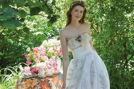 30 abiti da sposa con tocchi di colore