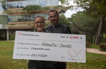 Antonietta e Vincenzo sono i vincitori della 79ª edizione del concorso di Matrimonio.com!
