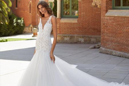 Abiti da sposa Luna Novias 2021: una collezione di classe e sensualità