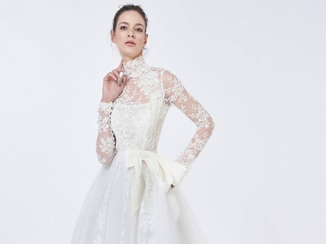 Étoile, la nuova collezione di Antonio Riva per le spose del 2021 debutta alla VBBFW