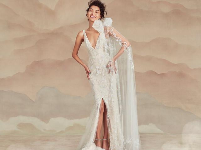 Ines Di Santo 2022: una collezione sposa che veste le dee moderne