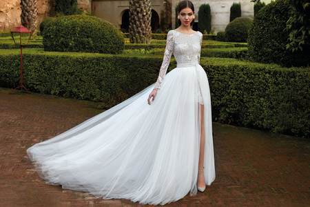 Abiti da sposa Valerio Luna 2021: ispirazioni marine per una collezione di puro romanticismo