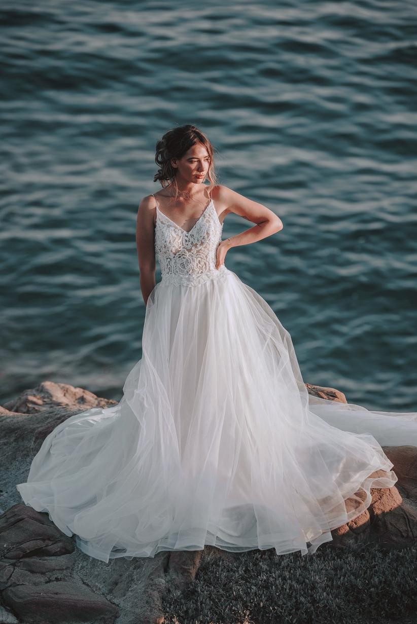 abiti da sposa tulle