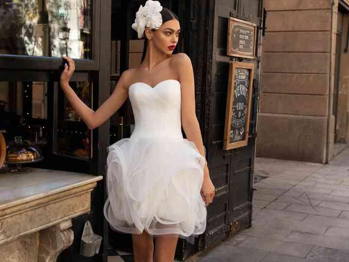 Vestito Da Sposa Corto Anni 60.30 Abiti Da Sposa Corti 2020 Che Ti Faranno Perdere La Testa