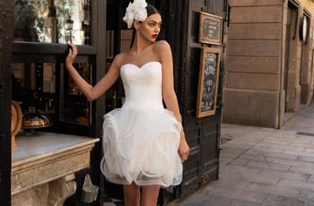 30 abiti da sposa corti 2020 che ti faranno perdere la testa