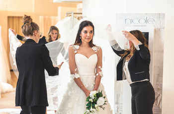 Un weekend di matrimoni in Nicole Milano per le influencer Eleonora Petrella e Vanessa Ziletti